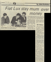 Wakefield Express 15/4/83 The Deal