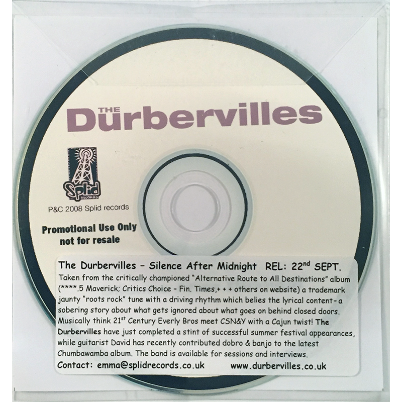 Durbervilles - Silence After Midnight